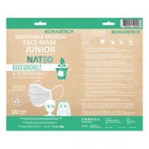Nateo - Masques enfants biodégradables et compostables x10