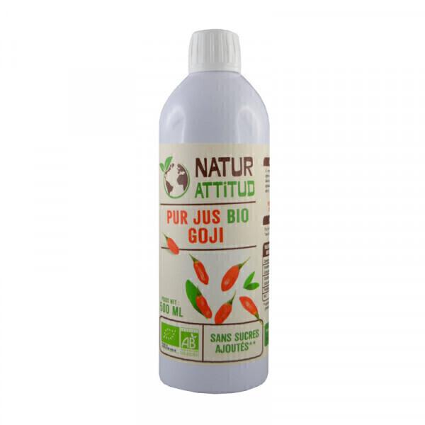 Natur Attitud - Pur jus de Goji Bio - 500 ml