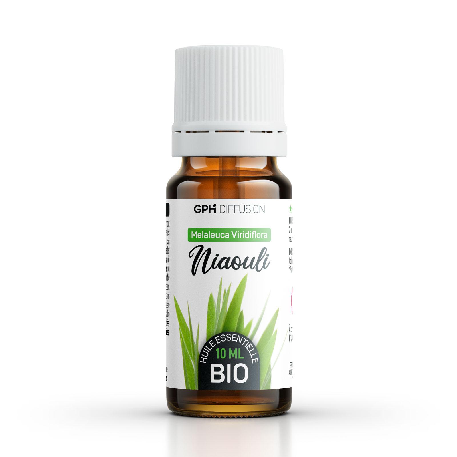 Gph diffusion - Huile Essentielle de Niaouli Bio 10 ml