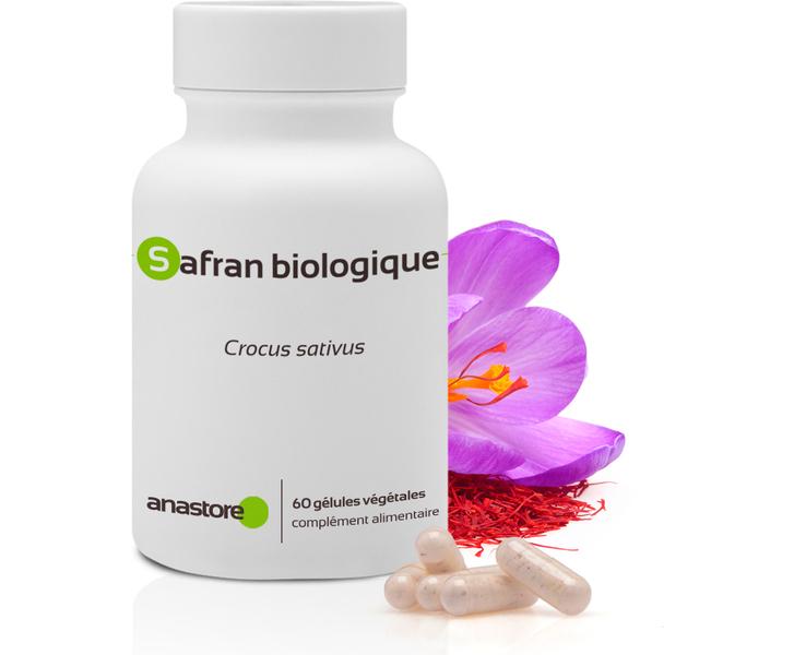 Anastore - Safran * 15mg / 60 gélules * Contribue à léquilibre émotionnel