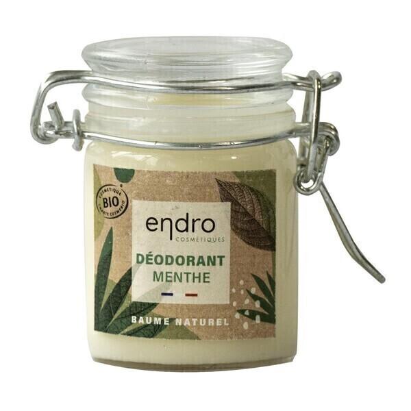 Endro Cosmétiques - Déodorant baume menthe poivree / cedre