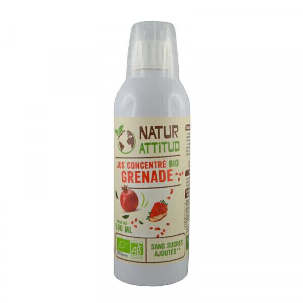 Natur Attitud - Jus concentré de Grenade Bio - 500 ml
