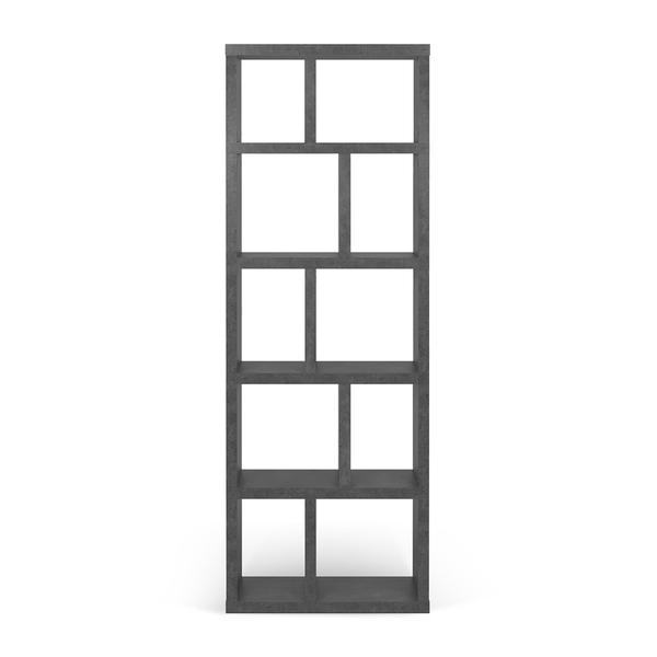 Temahome - Bibliothèque BERLIN 5 levels 70 - Béton