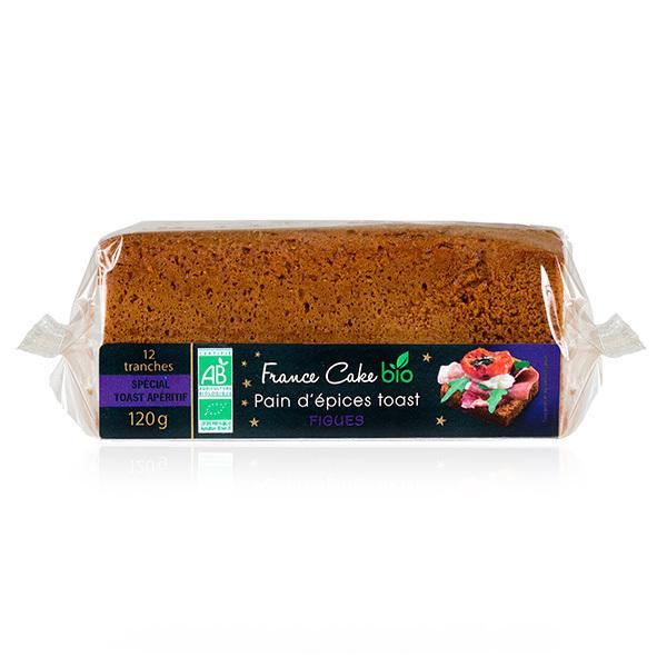 France Cake Bio - Pain d'épices toast à la figue 120g