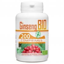 Bio Atlantic - Ginseng Rouge bio - 400 mg - 200 comprimés