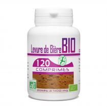 Bio Atlantic - Levure de bière Bio - 400 mg - 120 Comprimés