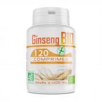 Bio Atlantic - Ginseng rouge bio - 400 mg - 120 comprimés