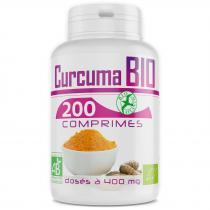 Bio Atlantic - Curcuma Bio - 400 mg - 120 Comprimés
