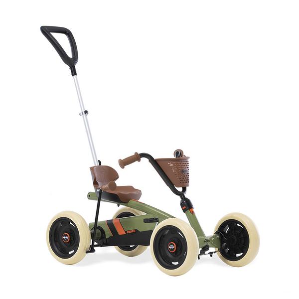 Berg - Kart à pédales Buzzy Retro 2in1 Vert - De 2 à 5 ans