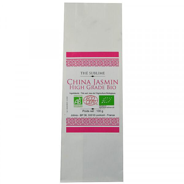 Jolivia - Thé Vert China Jasmin Bio - 100 g