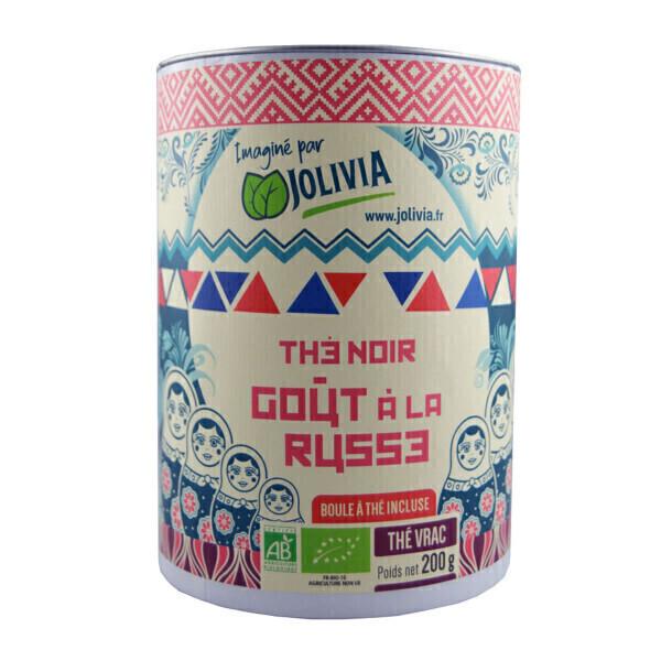 Jolivia - Thé Noir à la Russe Bio - 200 g