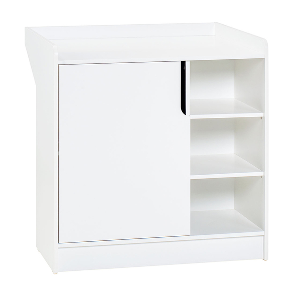 Vox - Commode à langer 1 porte Maxim - Blanc