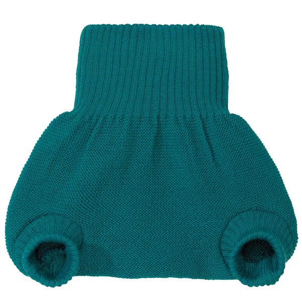 DISANA - Culotte de protection pacific en laine Mérinos 6-12 mois