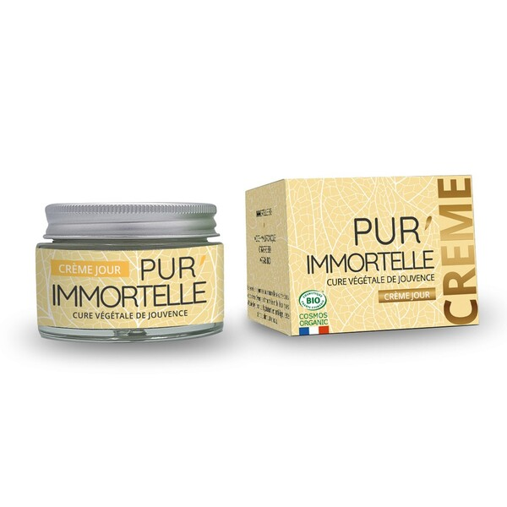Propos'Nature - Crème visage PUR'IMMORTELLE BIO - J