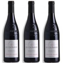 Domaine le Colombier - Lot de 3 bouteilles Vacqueyras vieilles vignes