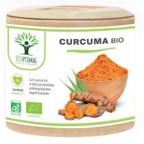 Bioptimal - Curcuma Bio - Articulation Digestion - Curcumine - 60 gélules