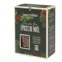 SuperNature - Granola Épices de Noël - Boite de 350g