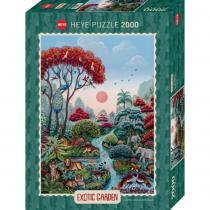 Heye - Puzzle Heye - Exotic Garden Wildlife Paradise - 2000 Pièces