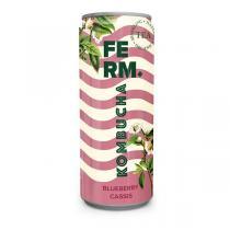 Ferm Drinks - Kombucha cassis myrtille 250ml