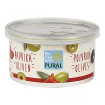 Pural - Pâté végétal poivrons et olives 125g