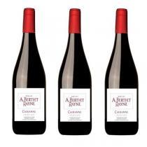 Domaine Berthet-Rayne - lot de 3 bouteilles Côtes du Rhône villages Cairanne