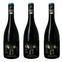 Devois de Cécèles - Lot de 3 bouteilles Pic St Loup Black Wolf