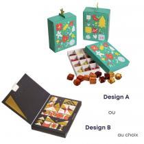 Good Cube - Calendrier de l'avent - Biscuits gourmands et sains