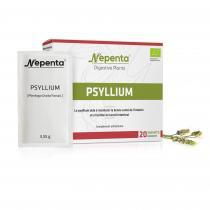 Nepenta - Psyllium Bio * 71 g / 20 sachets monodose * Arôme citron