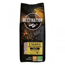 Destination - Café grain Moka pur arabica d'Ethiopie 1kg