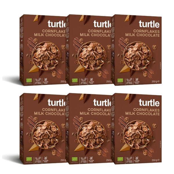 Turtle - 6 x Cornflakes Chocolat au Lait