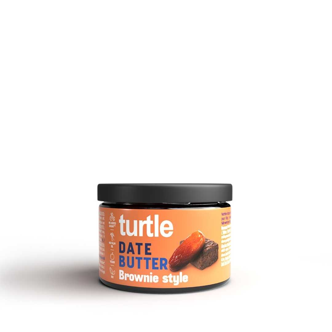 Turtle - 6 x Date Butter Brownie Style