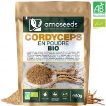 amoseeds - Cordyceps en Poudre Bio 50g