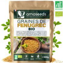 amoseeds - Graines de Fenugrec Bio 500g