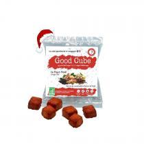 Good Cube - Biscuits beurre de cacahuètes/épices de Noël - Le Papa Noël