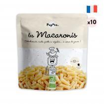 Popote - Les Macaronis Lot de 10 Féculents pour Bébé - Dès 12 mois