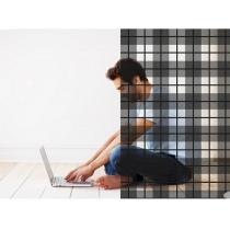 Acte Déco - Sticker Tartan 100x130 cm