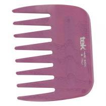 Tek - Peigne Afro dents larges en frêne lilas