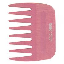 Tek - Peigne Afro dents larges en frêne rose
