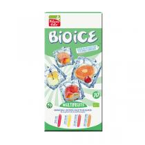 Bio Ice - Non-frozen kit for 10 assorted sorbet popsicles Multifruit