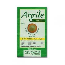 Ciel d'azur - Argile verte surfine Montmorillonite 300g