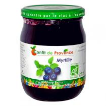 Confit de Provence - Confettura biologica mirtillo 650 g