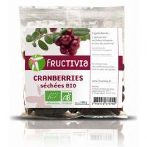 Fructivia - Cranberries séchées au Jus de pomme 100g
