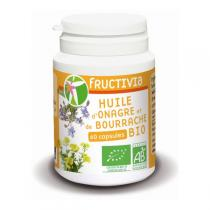 Fructivia - Huile Bourrache & Onagre 60 capsules