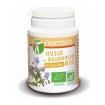 Fructivia - Huile de bourrache BIO 60 capsules