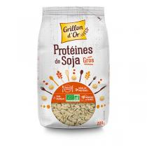Grillon d'or - Organic Soy Protein - Large Pieces 200g