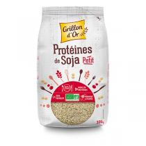 Grillon d'or - Organic Soy Protein - Small Pieces 300g