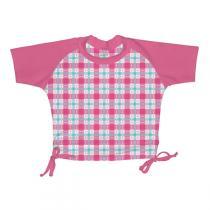 I Play - Anti-UV-T-Shirt 0 bis 3 Jahren Karomuster