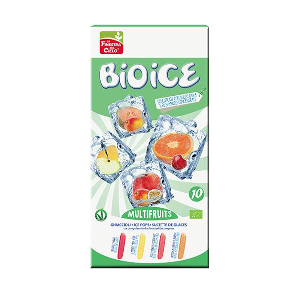 Bio Ice - 10 Glaces à préparer -Multifruit