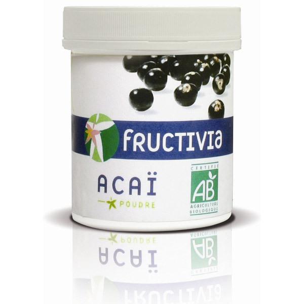 Fructivia - Poudre d'Açai Lyophilisé BIO 100g