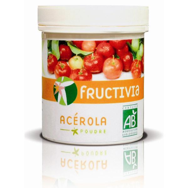 Fructivia - Poudre d'Acérola BIO 100g